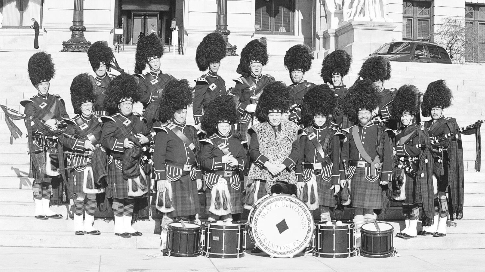 Black Diamonds Pipe Band – Early Days